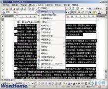 Word2003行距的设置方法