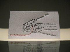十五张国外创意商业名片设计欣赏