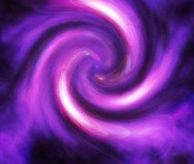 用Photoshop的滤镜应用绘制紫色漩涡的艺术效果