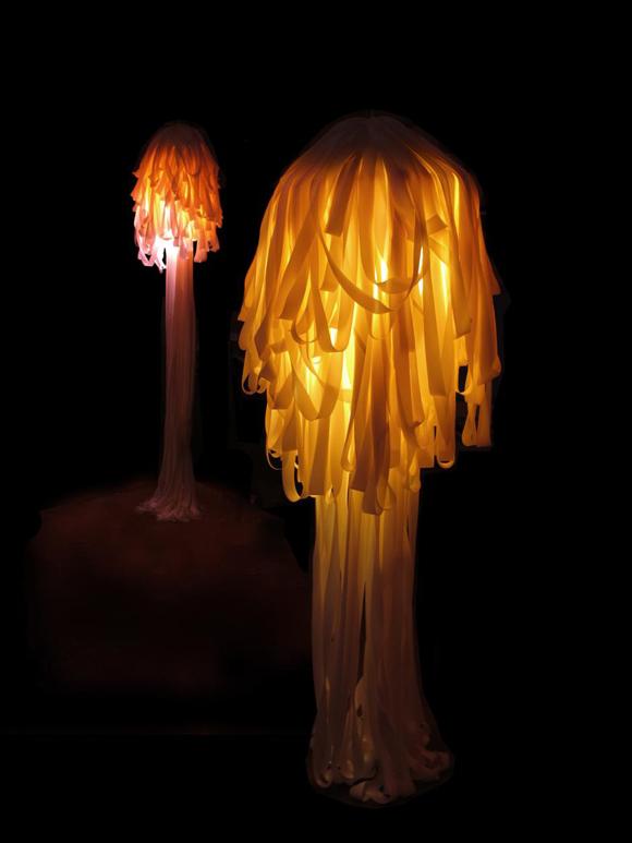 梦幻水母灯设计8