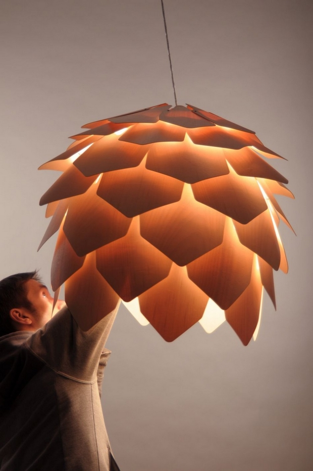 Crimean Pinecone Lamp 克里米亚松塔灯5