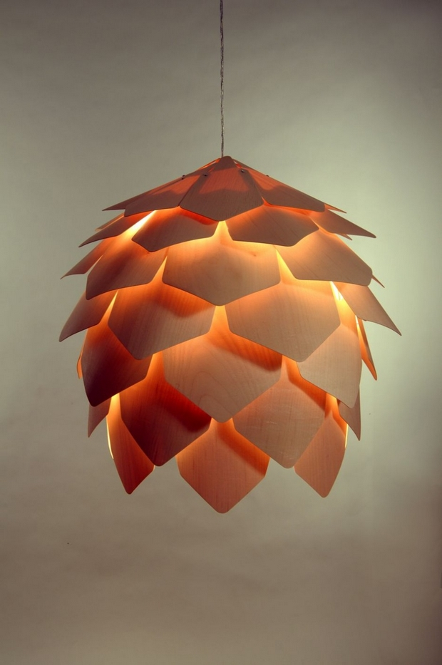 Crimean Pinecone Lamp 克里米亚松塔灯1