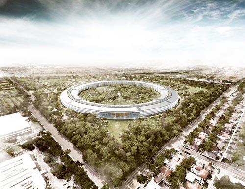 苹果公司新总部大楼2