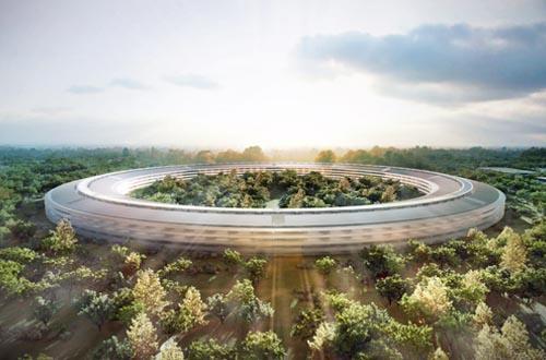 苹果公司新总部大楼1