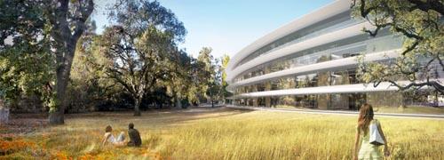 苹果公司新总部大楼7