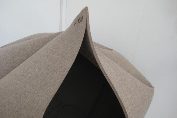 将自己完全隐蔽的时尚沙发3