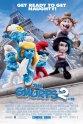 可爱的蓝精灵2 The Smurfs 2电影海报