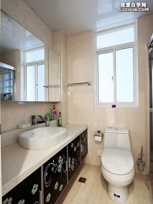 小户型洗手间如何装修省钱省地