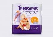 Treasures尿布包装设计