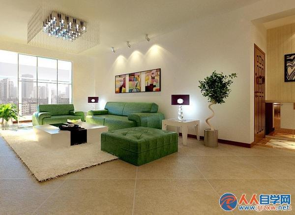 长方形卧室装修设计效果图