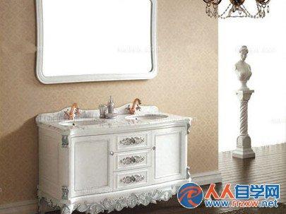欧式浴室柜效果图欣赏