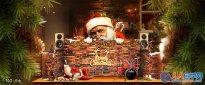 Photoshop制作幽默风格的圣诞海报
