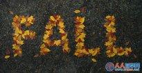 PS教你绘制萧瑟的秋天落叶字效