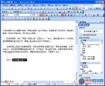Word文档中的文字格式