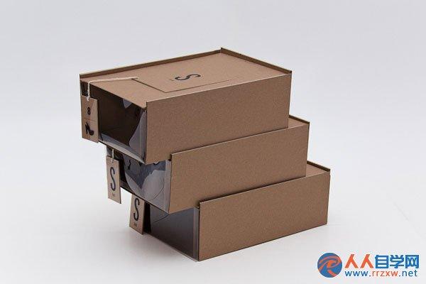 加拿大skins创意擦鞋包装设计