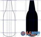 教你CorelDRAW绘制酒瓶实例图文