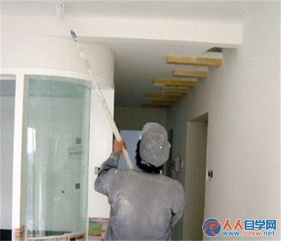 装修内墙墙面漆施工工艺