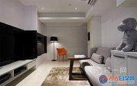 65平婚房装修创意设计效果图