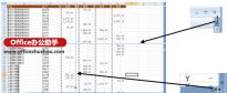 如何拆分Excel工作表窗格
