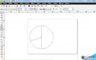 CDR如何给饼形图填色与去轮廓