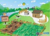 CDR如何绘制QQ农场?