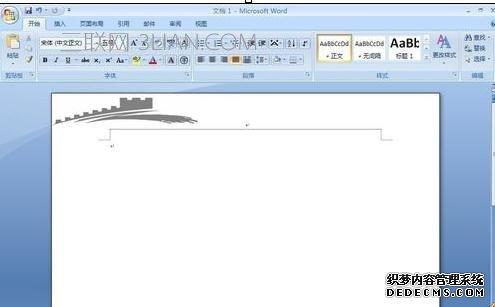 word文档怎么设置页眉图片左对齐