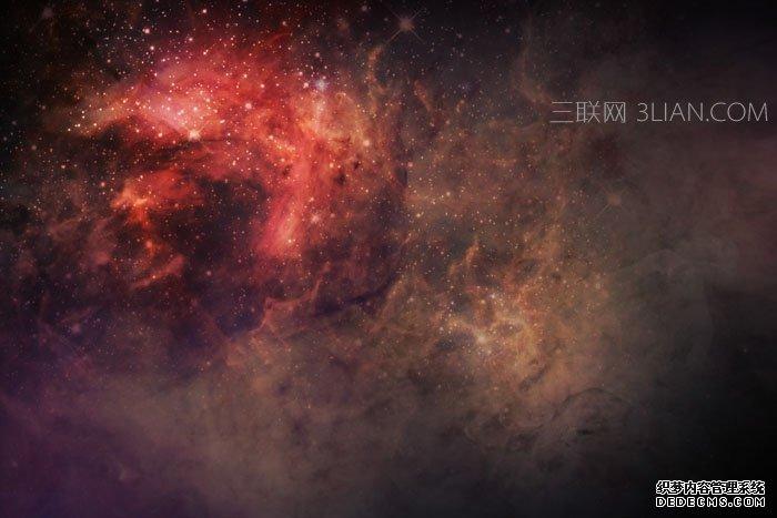 制作宇宙星空特效文字图片的PS教程