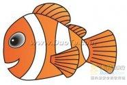Coreldraw如何绘制海底总动员小鱼Nemo