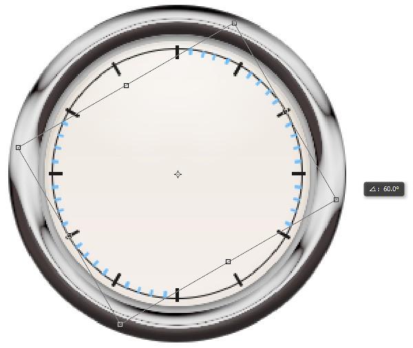 7dec2f73b7b94860bc6fc2fb797b3c5d 用PS创建一只金属秒表――PS精品教程