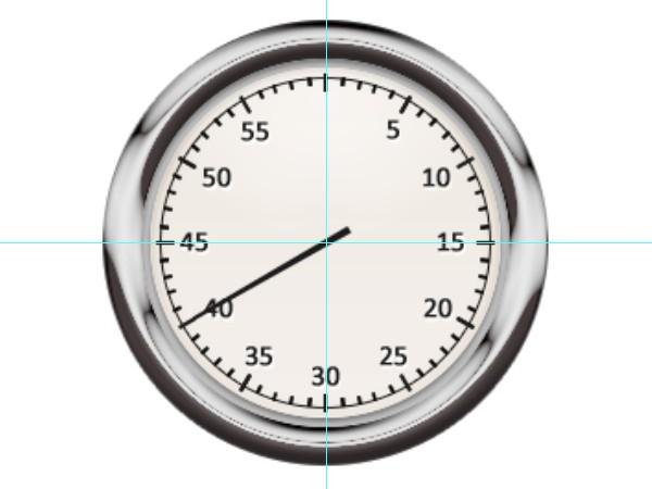 440cafa9cdc6404895de9329983b35ce 用PS创建一只金属秒表――PS精品教程