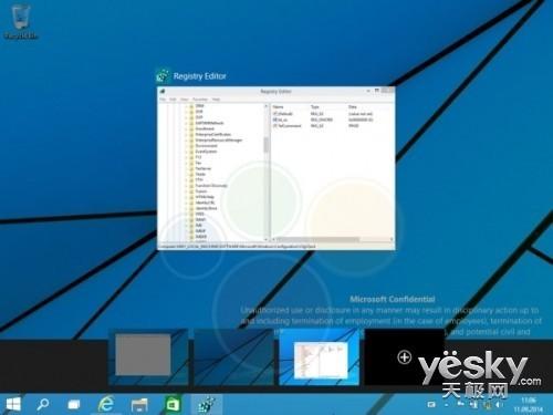 Windows 9虚拟桌面新信息 增强版Alt+Tab