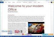Word2013在文档中添加网络视频