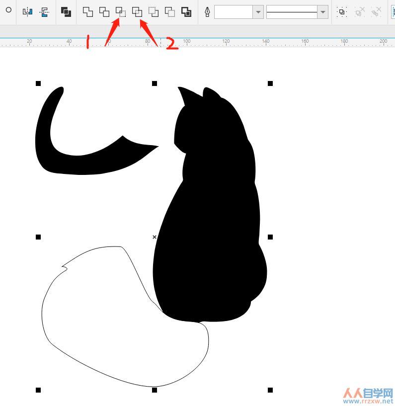 图3:提取尾巴