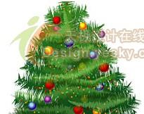 Illustrator矢量绘制实例:美丽圣诞树