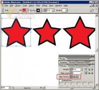 IllustratorCS2体验:增强的描边功能