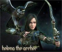 3Ds Max打造弓箭手海伦娜游戏角色