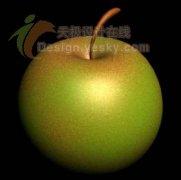 3ds MAX教程:球体工具应用打造逼真苹果