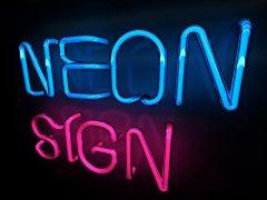 3ds Max和VRay创建超酷的霓虹灯文字效果