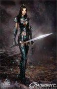 Photoshop打造性感精灵女战士