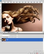 Photoshop教程:用渐变映射打造燃烧的火人