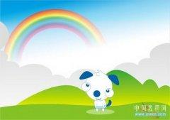 CorelDRAW交互式调和工具打造彩虹