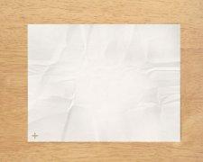 Photoshop教程:制作逼真的褶皱白纸