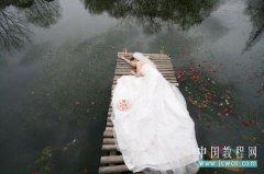 Photoshop教程:打造另类婚纱暗色调