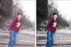 Photoshop将灰蒙蒙照片处理成光鲜亮丽