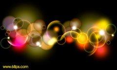 ps自学网教程之制作梦幻的彩色泡泡
