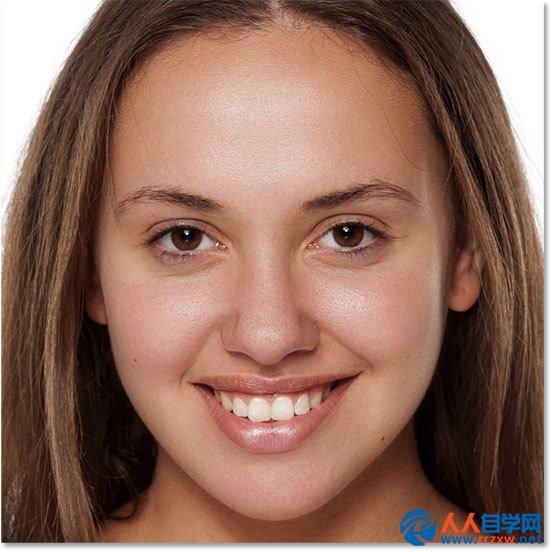 学习消除人物脸部痘痘的PS美肤教程
