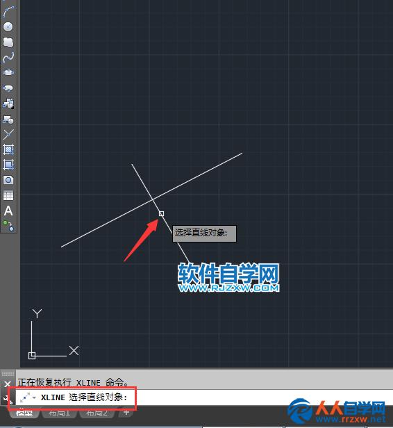 cad构造线的偏移怎么用